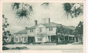 Virginia Williamsburg The Williamsburg Lodge 1951