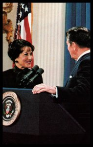 President Reagan Nominates Elizabeth Dole to the Department of Transportation