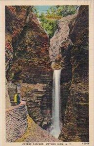 Cavern Cascade Watkins Glen New York