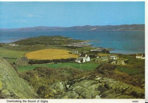 Scotland Postcard - Overlooking The Sound of Gigha - Ref 19033A