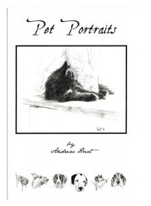 et Portraits Andrew Hart Artist Pencil Drawings Advert Card