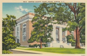 SUMTER, South Carolina, 1930-40s; Sumter County Court House