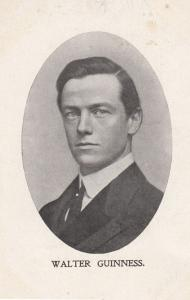 Walter Guiness Irish Middle East WW2 ASSASINATION WW2 Politician Old Postcard