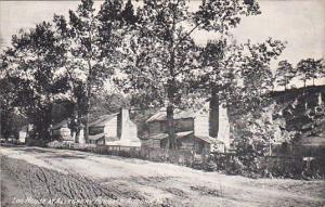 Log House At Allegheny Furnace, ALTOONA, Pennsylvania, PU-1910