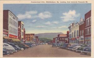 Cumberland Avenue , MIDDLESBRO , Kentucky , 30-40s Drug STore