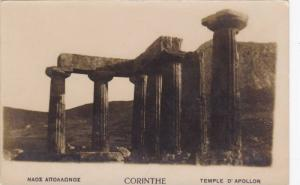 RP, Ruins, CORINTHE, Temple D'Apollon, Greece, 1900-10s