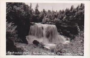 West Virginia Tucker County Blackwater Falls Real Photo