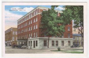 Hotel Lembke Cars Valparaiso Indiana postcard