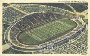 Alamo Stadium, San Antonio, TX, USA Foot Ball,  Football Stadium Postcard Pos...