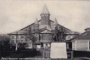 OCEAN GROVE, New Jersey, 1900-1910's; Stokes Monument And Auditorium