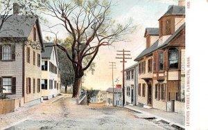 Leyden Street in Plymouth, Massachusetts