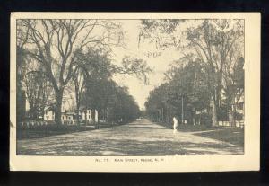 Keene, New Hampshire/NH Postcard, Main Street