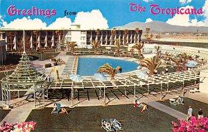 Casino, Las Vegas Post Card Tropicana Pool Las Vegas, NV., USA Unused