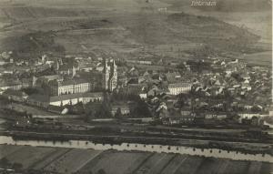 luxemburg luxembourg, ECHTERNACH, Panorama (1920s)