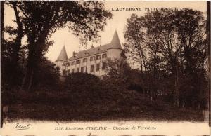 CPA L'Auvergne Pittoresque Chateau de VERRIERES (409374)