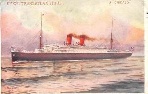 5698   S.S. Chicago, C. G. Transatlantique Line