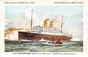 T.S.S. Rotterdam, Holland-America Line