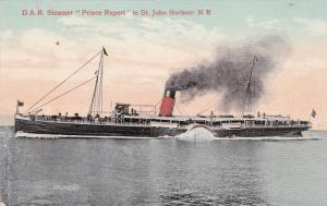 D.A.R. Steamer PRINCE RUPERT in Harbor, St John , New Brunswick , Canada, 00-1