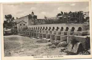 TUNISIE CPA TEBOURBA.- Barrage d'el battan   (119530)