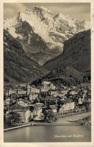 Switzerland Interlaken und Jungfrau 02.92