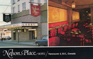 [SOLD] VANCOUVER, British Columbia, Canada, 1975; Nelson Place Hotel
