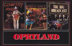 Professionally staged shows, Opryland, Nashville, Tennessee, 40-60s
