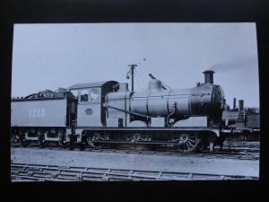 Steam Locomotive No.1213 RP Photocard