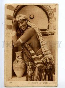 236283 TUNIS Semi-nude Black girl vintage Lehnert & Landrock