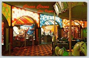 Las Vegas NV~Circus Circus Interior~Carousel Horse~Prize Redemption Center~1960s