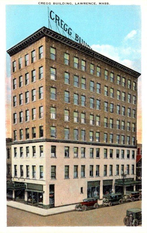 Massachusetts Lawrence Cregg Building