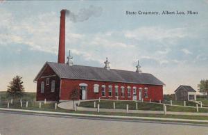 State Creamery, ALBERT LEA, Minnesota, 1900-10s PU