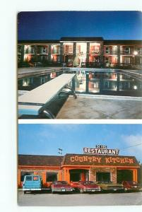 Postcard Kentucky Cave City Quality Inn Hotel Motel Mammoth Cave rest # 3152A