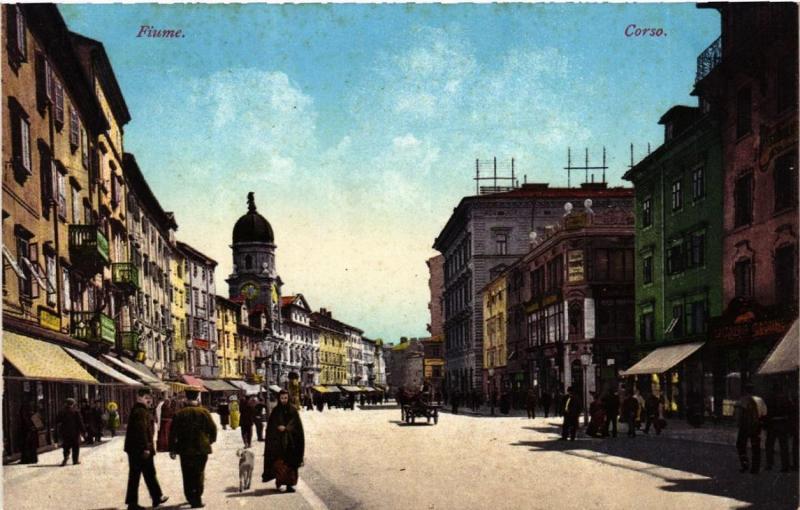 CPA Fiume Corso CROATIA (596712)