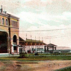 Vintage 1910s Theatre Theater Ocean View Norfolk Postcard Virginia VA