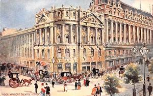 London United Kingdom, Great Britain, England Waldorf Theatre London Waldorf ...