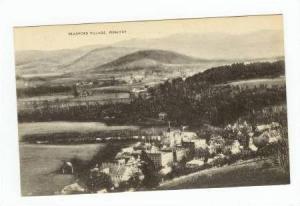 Bird's Eye View, Bradford Village, Vermont, 1900-1910s