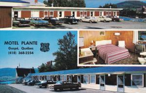Motel Plante , GASPE , Quebec , Canada , 50-60s