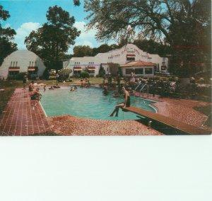 Gulfport, Mississippi Alamo Plaza Hotel Courts Vintage Chrome Postcard