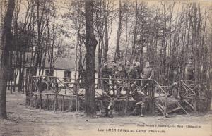 France Les Americans au Camp d'Auvours