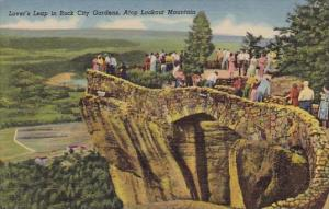Lovers Leap In Rock City Gardens Atop Lookout Mountain Tennessee