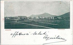 44113  -  CARTOLINA d'Epoca - CASERTA Città : PANORAMA 1902