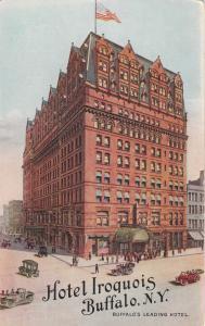 BUFFALO , New York , PU-1913; Hotel Iroquois