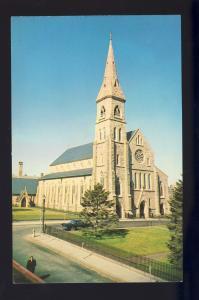 Fall River, Massachusetts/MA/Mass Postcard, Saint Mary's Cathedral, Near Mint!