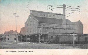 Alexandria Minnesota Cold Storage Vintage Postcard JJ658713