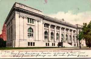 Washington Seattle Public Library 1907