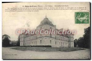 Postcard Old Ancy Le Franc Le Chateau ensemle South West