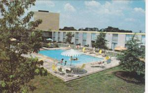 Airport Hilton Inn, swimming pool, Nashville,Tennessee, PU-40-60s