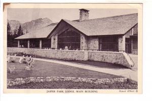 B&W, Jasper Park Lodge, Main Building,  Alberta, Rowel O'Neill