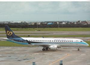 MANDARIN AIRLINES, EMB-190AR, unused Postcard