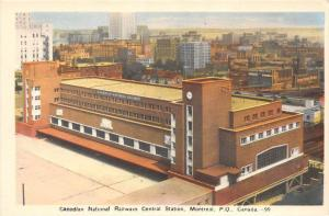 10157  Montreal     Canadian National  Railroad  Central Station